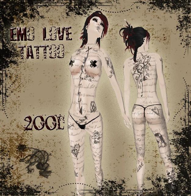 emo love tattoo fullbody emo love tattoo jacket shirt un flickr. Black Bedroom Furniture Sets. Home Design Ideas