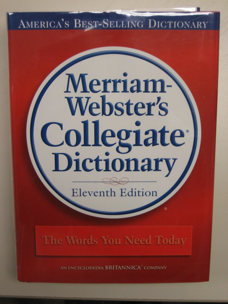 merrium webster merriam webster 39 s collegiate dictionary the cover of