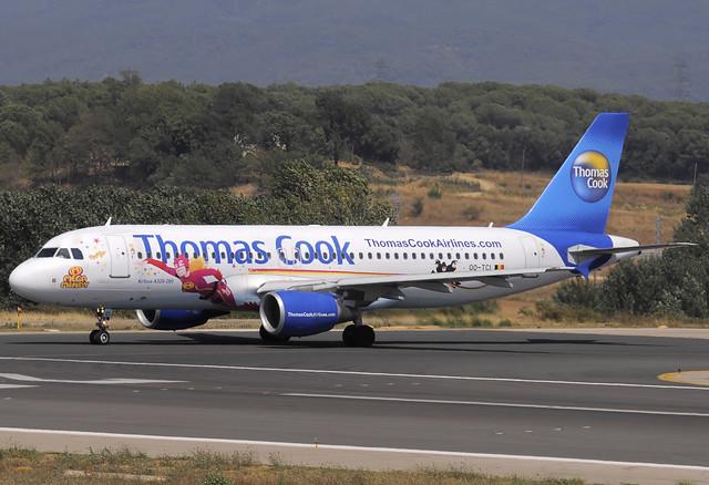 Thomas Cook (Mega Mindy) A320-214 OO-TCI GRO 05/08/2009