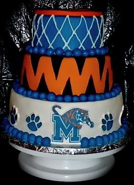 Memphis Tigers Cake Westsidecakes Com Katee Forbis