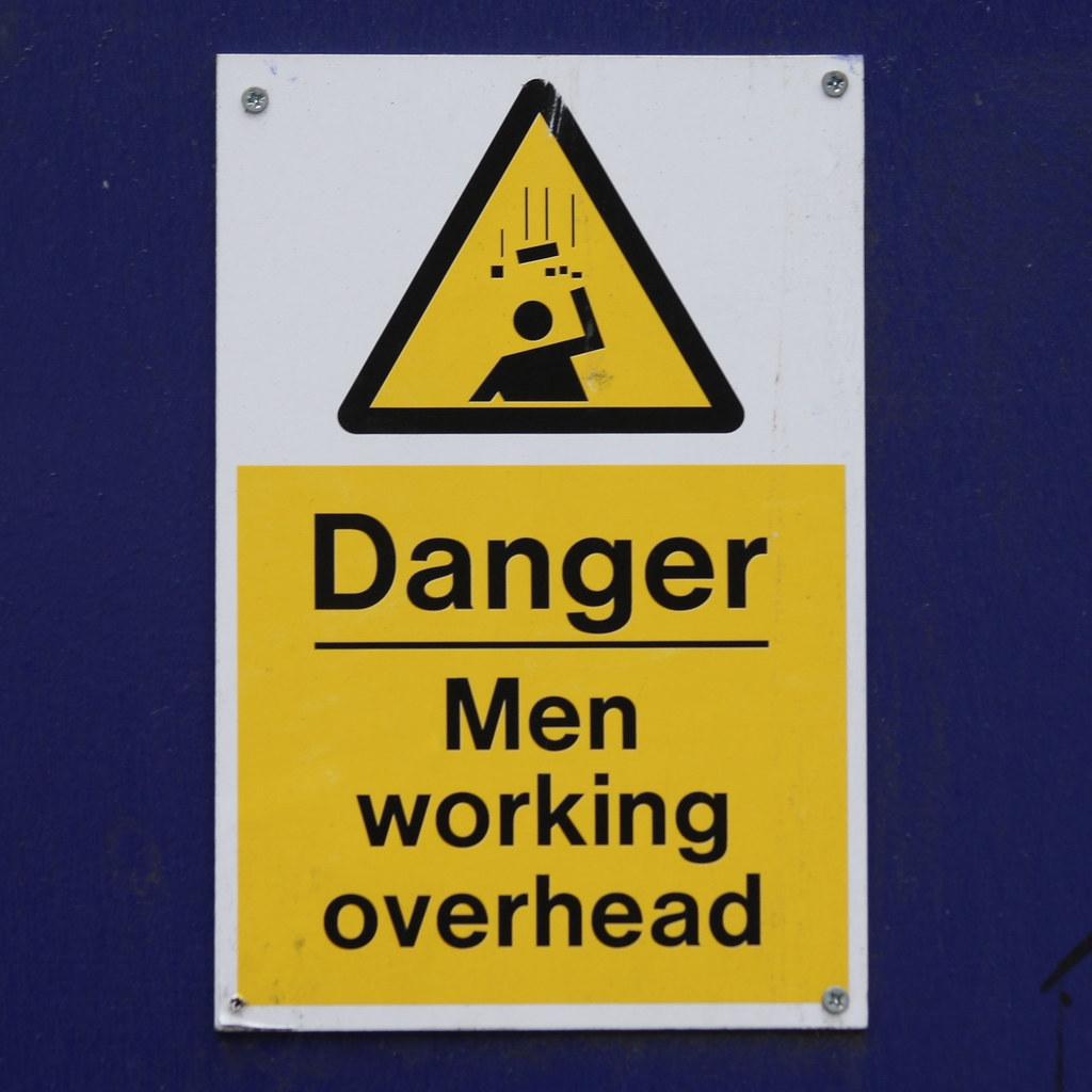 Men working overhead