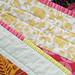 Mendocino quilt: Binding