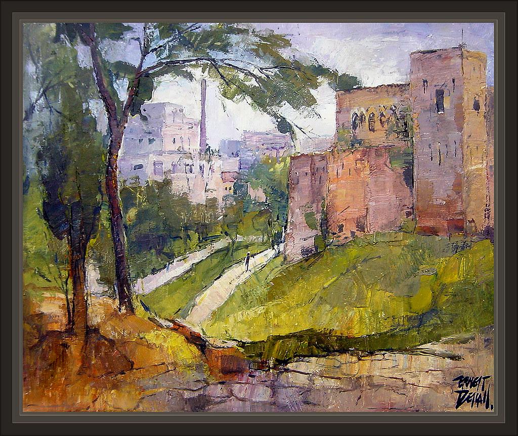 Terrassa parc vallparadis cartoixa paisajes pintura pintor - Pintores en terrassa ...