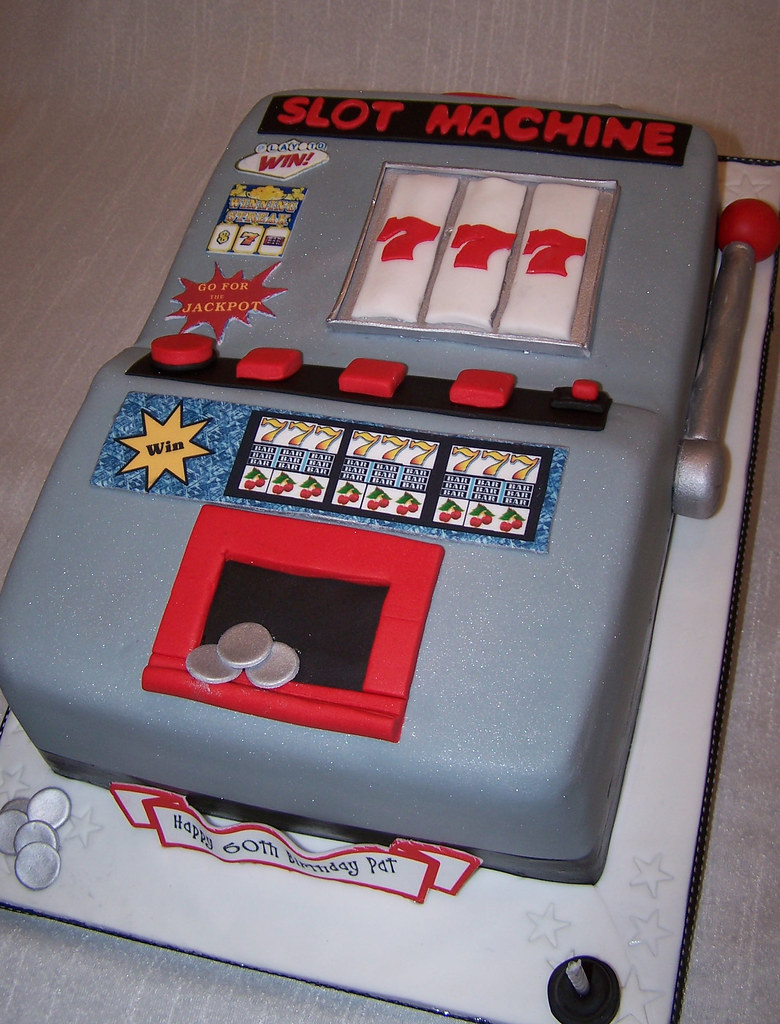 Slot Machine Sheet Cakes