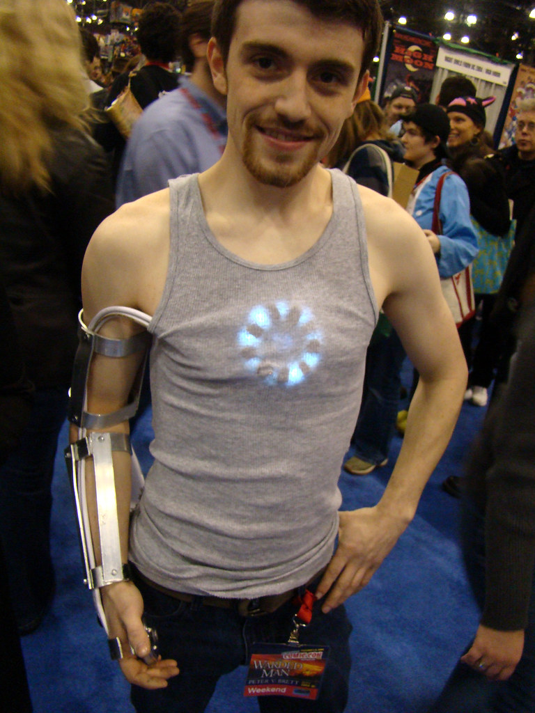 Tony Stark Tony Stark Iron Man New York Comic Con