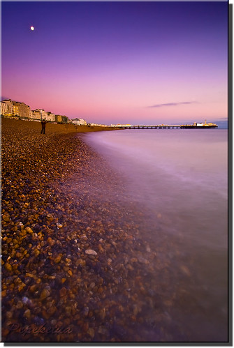 Brighton Beach @ Sunset | by Pepeketua