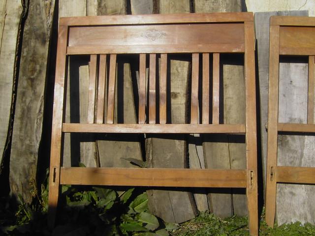 16 camas antiguas de madera con preciosos dibujos flickr - Cama antigua de madera ...