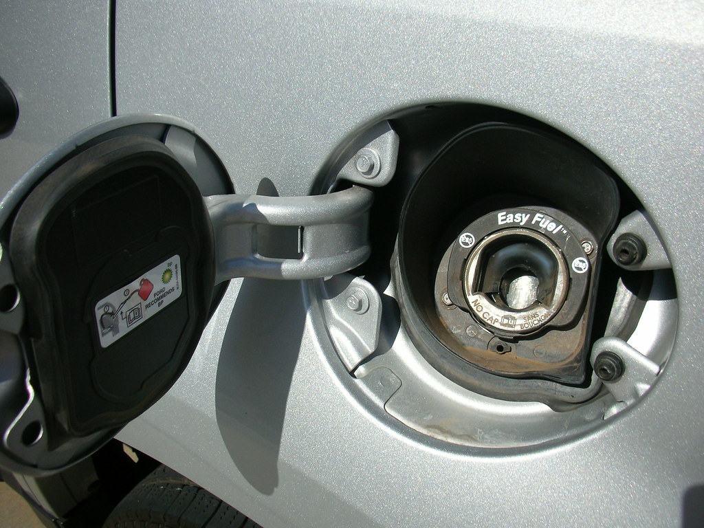 Ford Escape Hybrid No Gas Cap Ford Loaned Me An