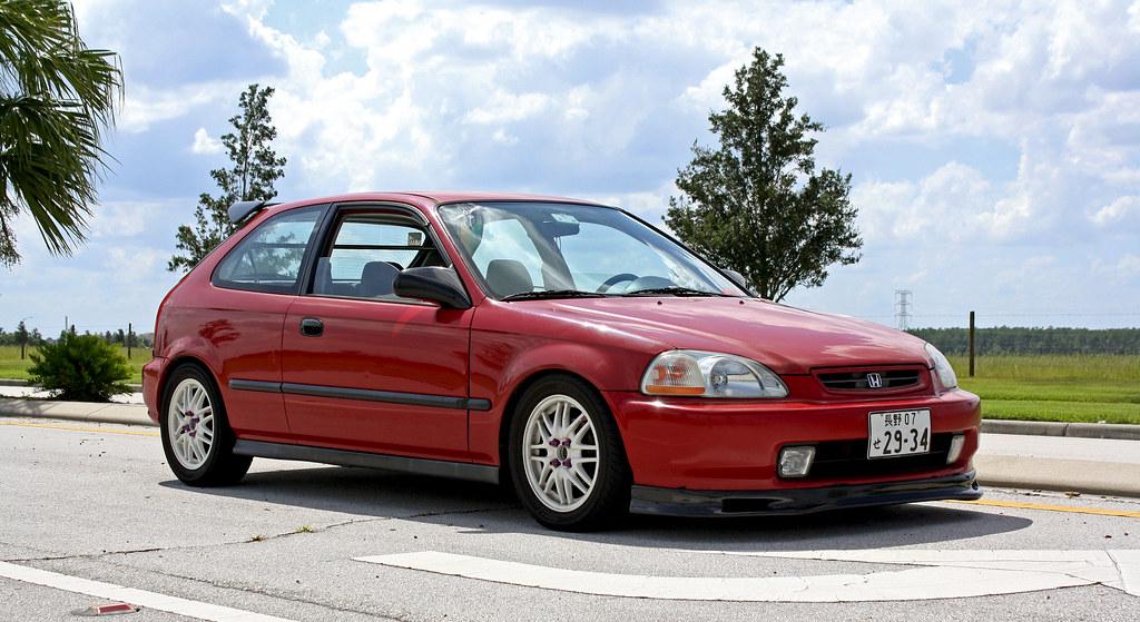 1997 Honda Civic Hatchback Side 2   Camilo Fotografia   Flickr