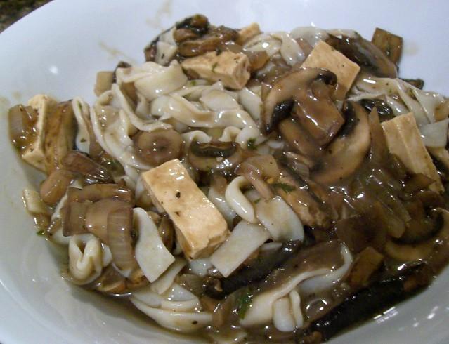 Tofu - Mushroom Stroganoff | A delicious recipe that I ...