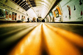 Stand behind the yellow line | by fotobes