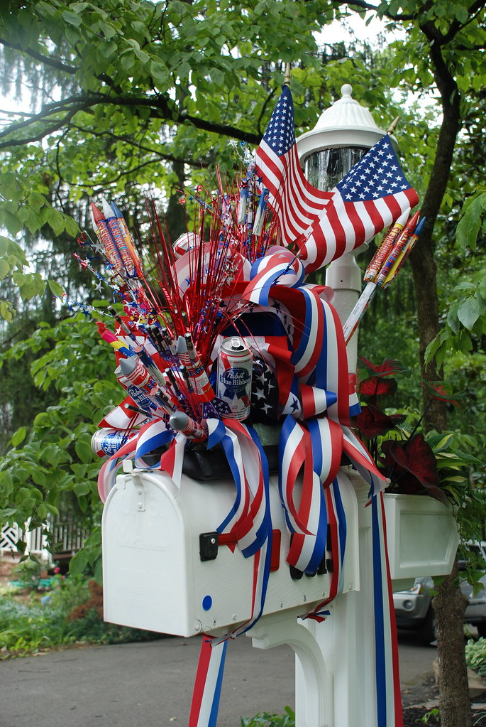 The best 4th of july decorations i have ever seen flickr for 4th of july decorating ideas for outside