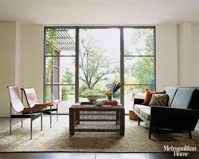 Mid Century Modern Living Room Jens Risom Loveseat Benj Flickr