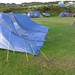 Too windy for big tents
