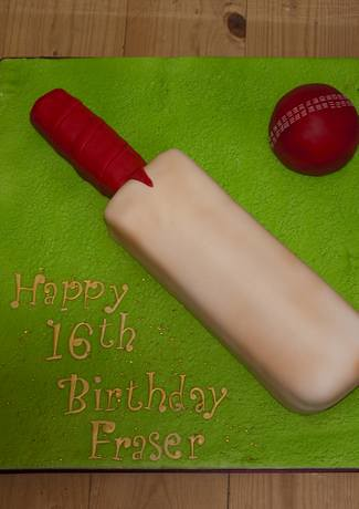 Cricket Bat Cake Images : Cricket Bat cake Lisa Hilton Flickr
