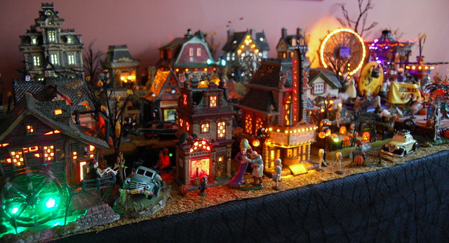 department 56 halloween town by preludevtec01