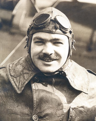 Photograph of airmail pilot Wesley Smith | by Smithsonian Institution