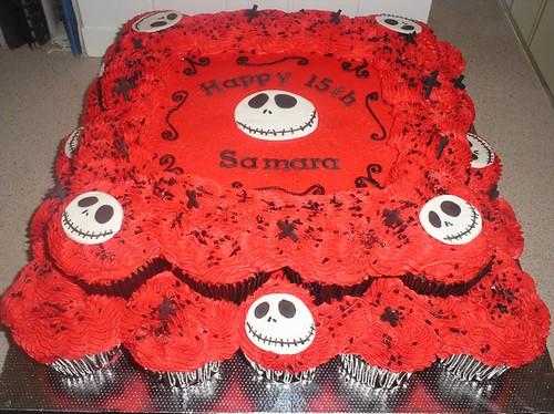 Red Black White Cake Ideas