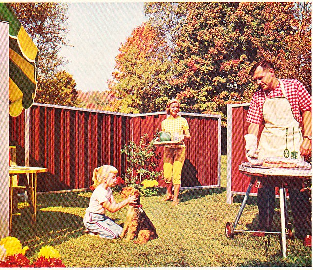 1962 Ad For Anchor Fence All