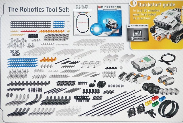 Lego NXT 2.0 List of Parts | To see more details visit: peer… | Flickr