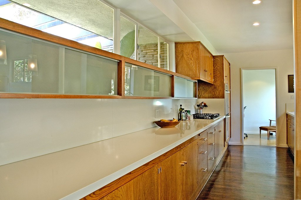 Mid Century Kitchen Retrofit Cabinetry Laurie Flickr