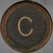 typewriter key letter C