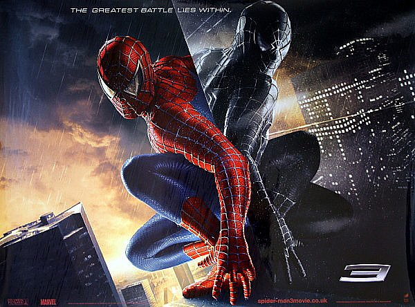 Spiderman 3 original 2007 advance uk quad movie poster gl flickr - Quad spiderman ...