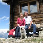 Höhenwanderung Grächen 2011