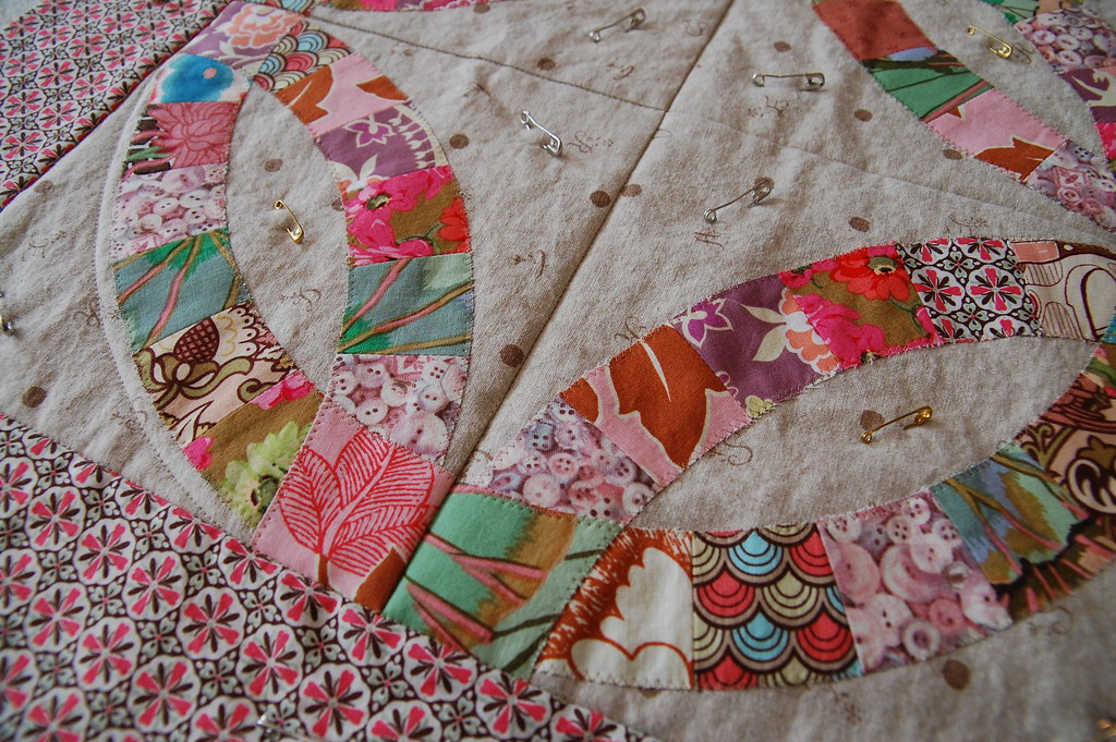 double wedding ring quilt wedding ring quilt class the workroom flickr 3662