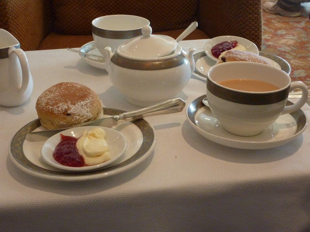 Afternoon Tea At Castle Rising Tea Rooms