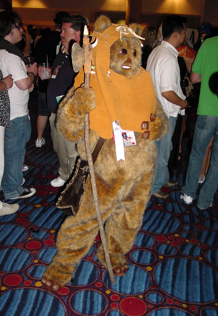 adult ewok costume pictures to pin on pinterest pinsdaddy. Black Bedroom Furniture Sets. Home Design Ideas