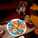 Beagle and snacks