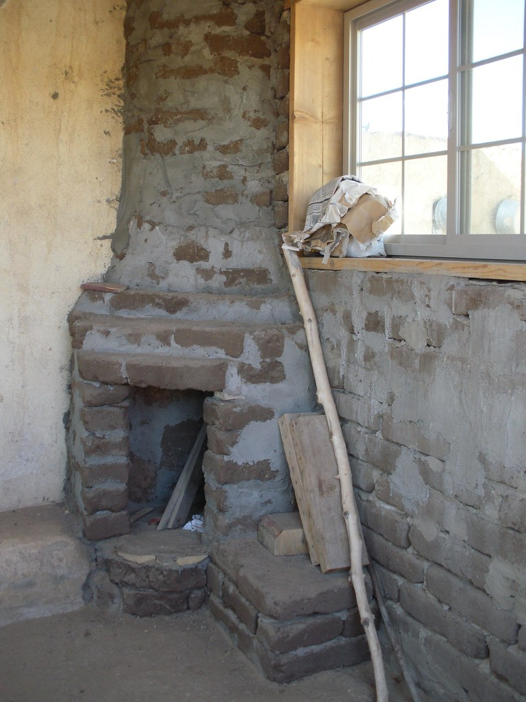 Kiva Fireplace This Is The Type Of Fireplace That Was
