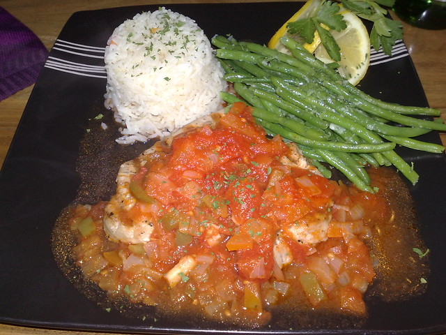tuna steak with rice and vegetables o 39 galo denmark hill
