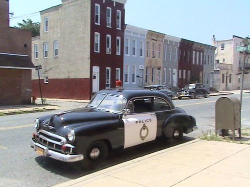 1949 Chevy Police Car  1949 Chevy Cop Car On The Movie -7446
