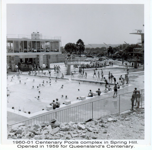 1960 01 centenary pools complex the centenary pool for Pool design 1970