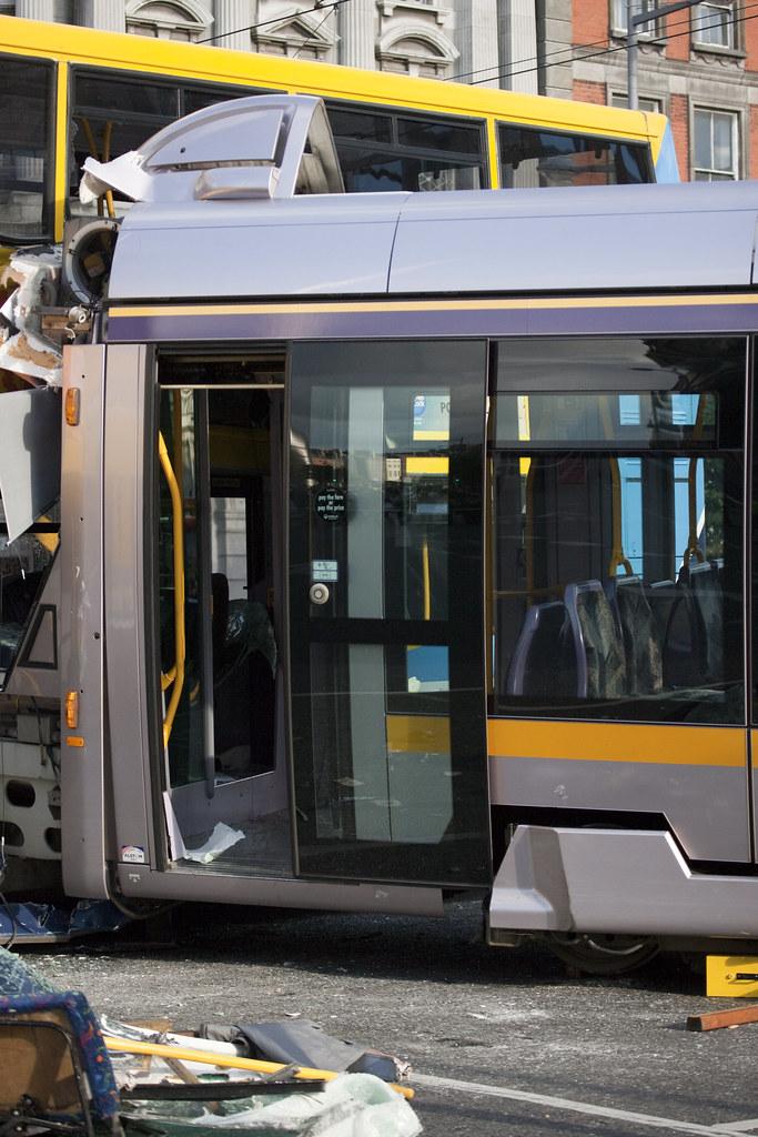 Bus Crashes Into Car