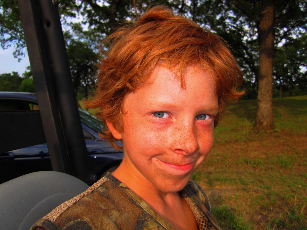 red hair blue eyes freckles dirt and that smile flickr. Black Bedroom Furniture Sets. Home Design Ideas