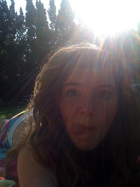 backyard tanning alongfortheride flickr