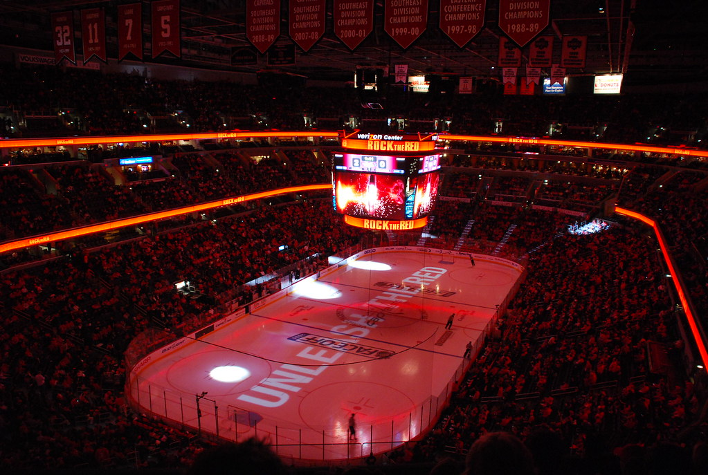 Rock The Red Washington Capitals Host Nashville