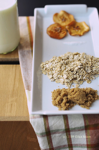 Components of oatmeal for breakfast | by 3liz4