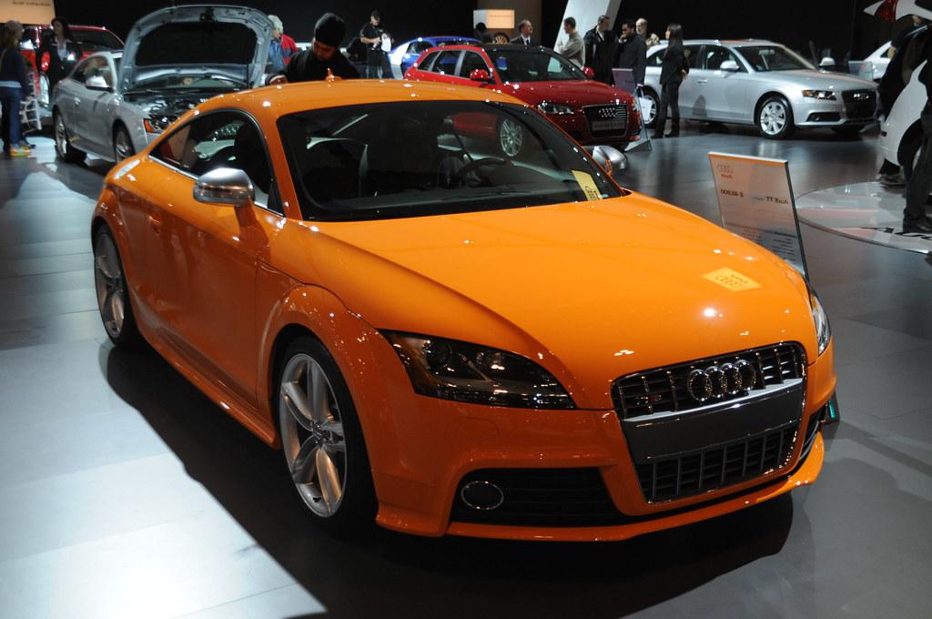 Drive By Wire >> Audi TTS in Solar orange   Engine-type: Inline four-cylinder…   Flickr