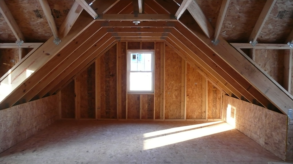 Attic Truss With Dormers This Westerngarage Com