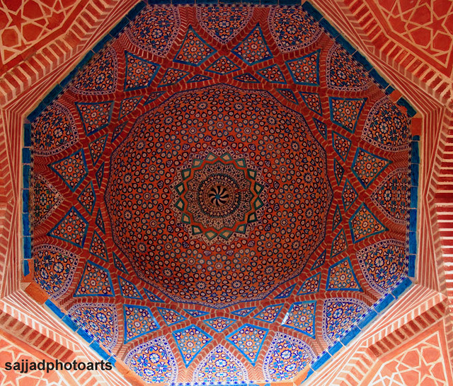 Islamic geometric patterns | Shahjahan mosque thatha sind