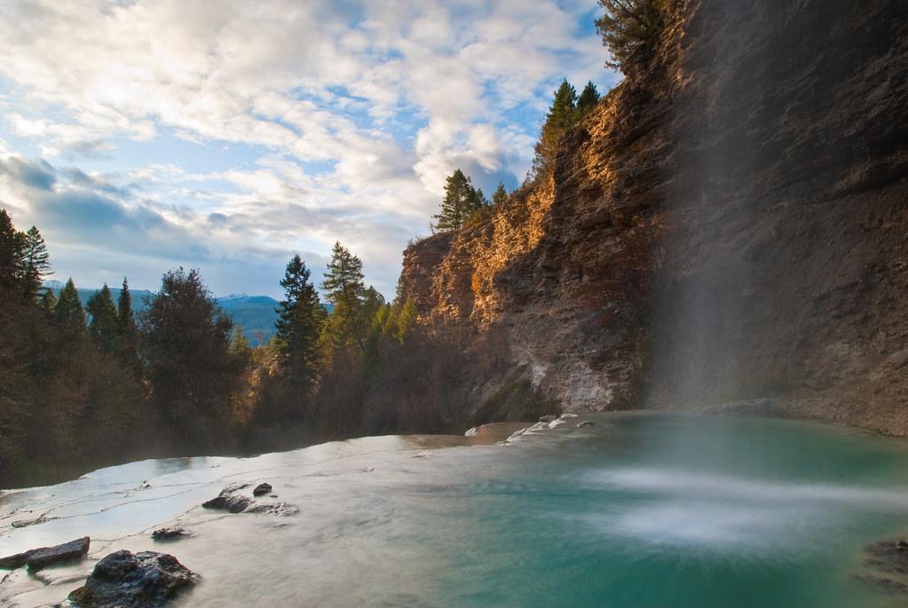 Falls Fairmont Hot Springs British Columbia Canada
