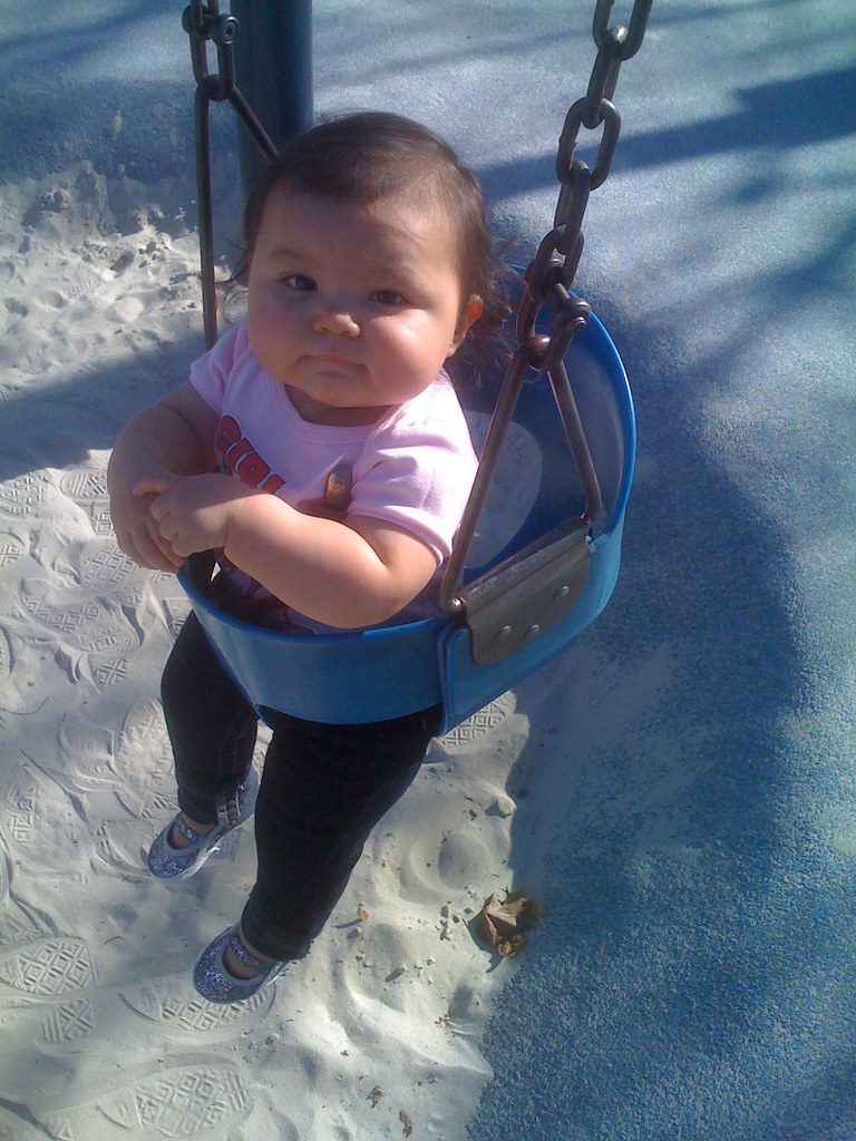 first time swinging our
