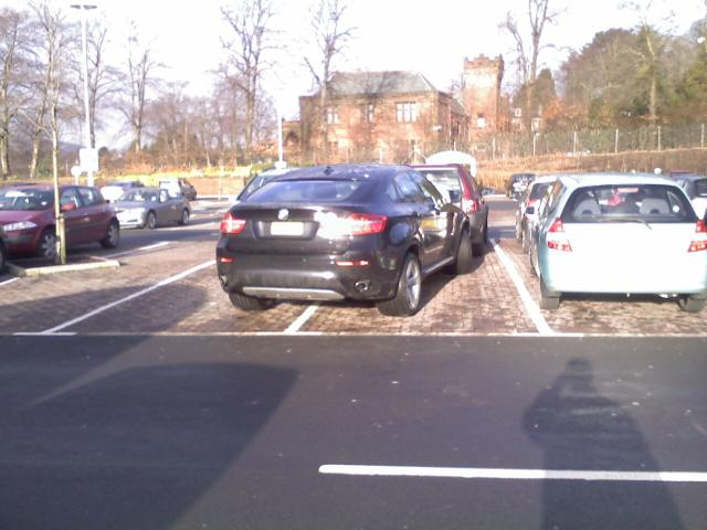 Bad Parking Again A New Bmw X6 Parked As Only A New