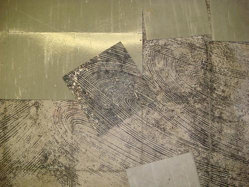 asbestos floor tile black mastic damaged loose detail flickr photo sharing. Black Bedroom Furniture Sets. Home Design Ideas