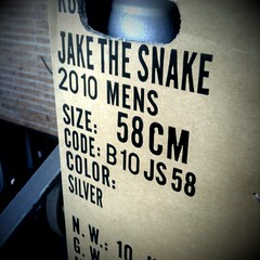 010 Jake the Snake Arrives | by Hugger Industries
