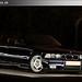 BMW M3 e36 lightpainted